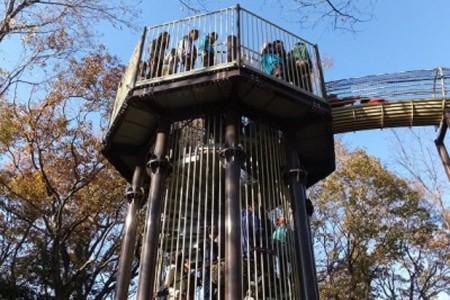 在日本第一的空中回廊与溜滑梯,和孩子们ㄧ起度过难忘的一天吧