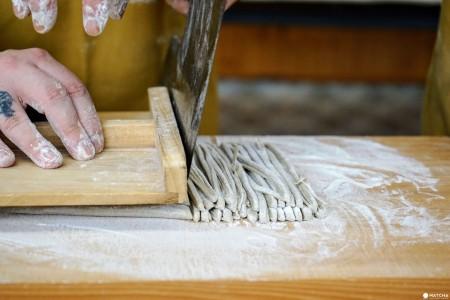 Atelier de fabrication de nouilles Soba et randonnée au mont Takatori