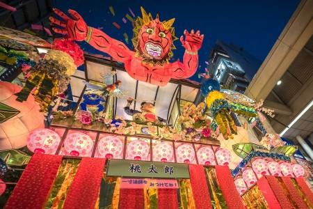 """여름의 전통! 일본 3대 타나바타 축제의 하나, """"쇼난 히라츠카 타나바타 축제""""."""