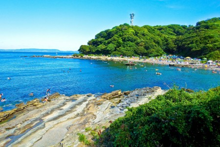 Enjoy the View of Tokyo Bay from Cape Kannon's Sea