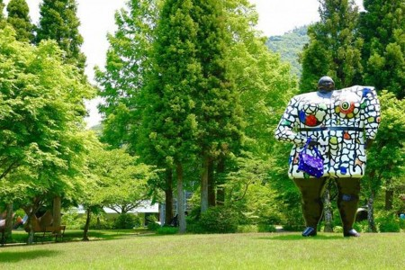 A luxurious day, immerse yourself in art in Hakone