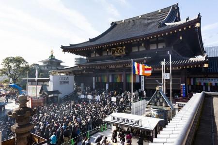 川崎大師参拝と多摩川の恵みを感じて歩く