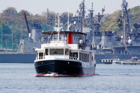 Visit the navy port Yokosuka and Misaki, famous for its tuna landing
