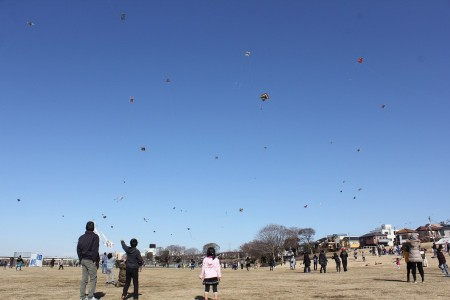 Why not take a trip down memory lane? Fly your own hand-made kite at the Kite Flying Festival!