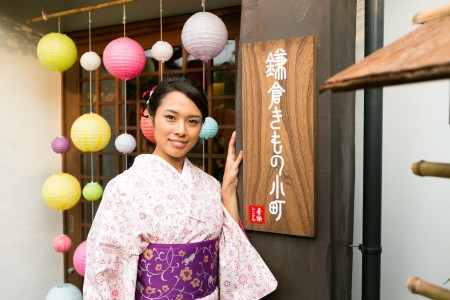 The old capital of Kamakura, ideal for those who want to enjoy a taste of traditional Japanese style