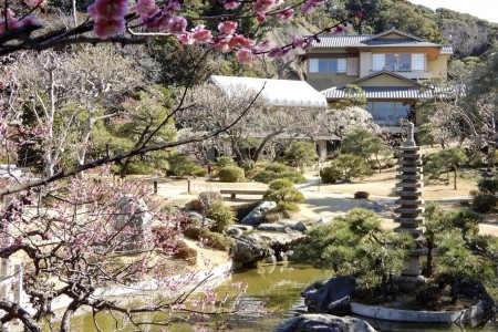 A historical trip to a Japanese house and garden which were the venue for the Japan-U.S. Summit meeting.