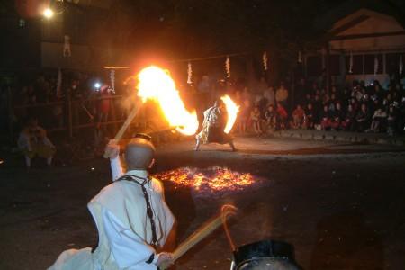 秋葉山火防祭、防火祭