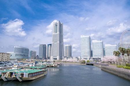 横滨未来港地区 悠闲散步