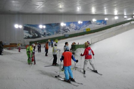 Enjoy snow sports year round at Yokohama
