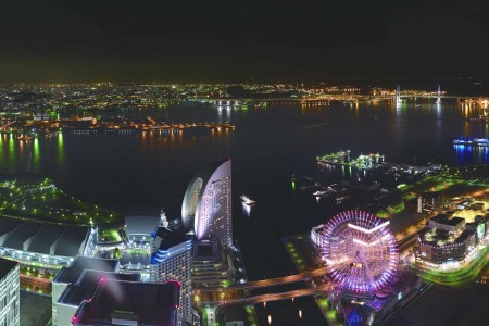 A special night for enjoying Yokohama's sparkling nightscape