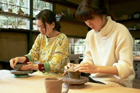 An Experience course for adults. Pottery, glass workshop and a sausage-making experience
