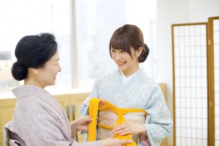 Kimono Experience in Sankeien
