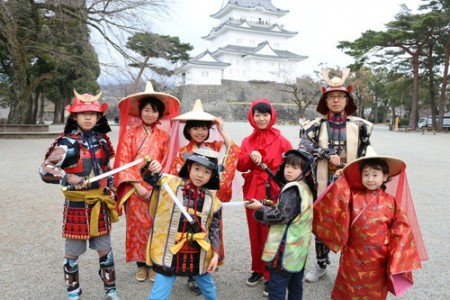 Travel back in time to the warring states period. Can you take on ninja training in Odawara