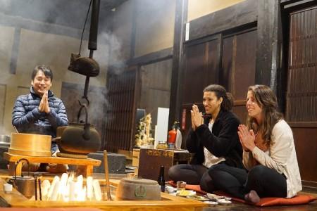 Dégustez la cuisine japonaise dans une brasserie et une vieille maison de ville