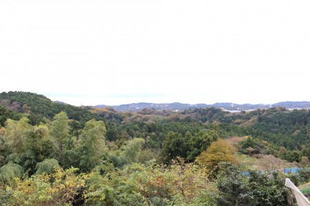 Scenery from Mount Ohira, the highest mountain in Yokohama