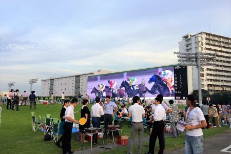 Sports and Food in Kawasaki Race Course