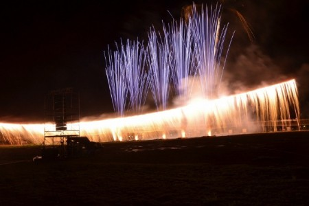 Niagara-Feuerwerk auf der Burg Odawara! Erleben Sie Odawaras berühmtes Schauspiel