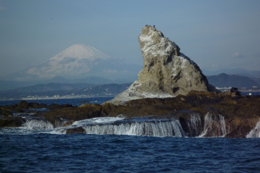 Die Küste von Chigasaki und Wassersport