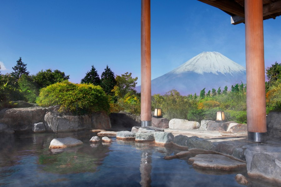 Bewundern Sie Kirschblüten und den Blick auf den Berg Fuji im Westen Kanagawas