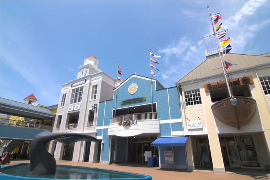 在三浦購物和參觀水族館的一天