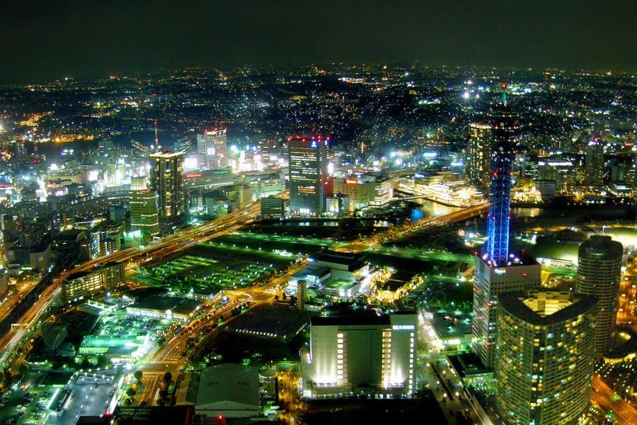 ขึ้นเฮลิคอปเตอร์เพื่อชมวิวเมืองโยโกฮามะสุดตระการตา