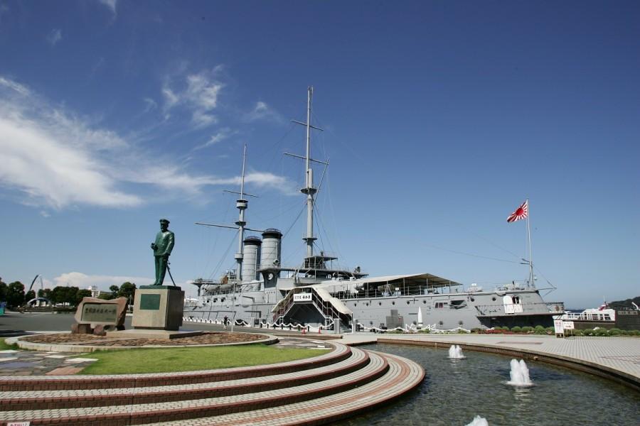 Goûtez à la vie en mer avec tour sur un bateau de guerre et un voyage sur l'île de Sarushima