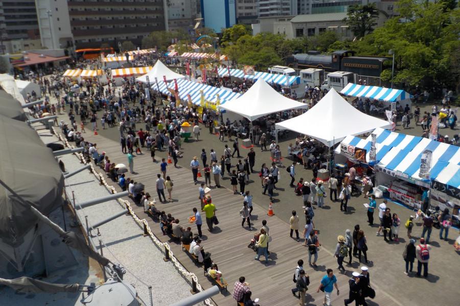 Festival du curry de Yokosuka