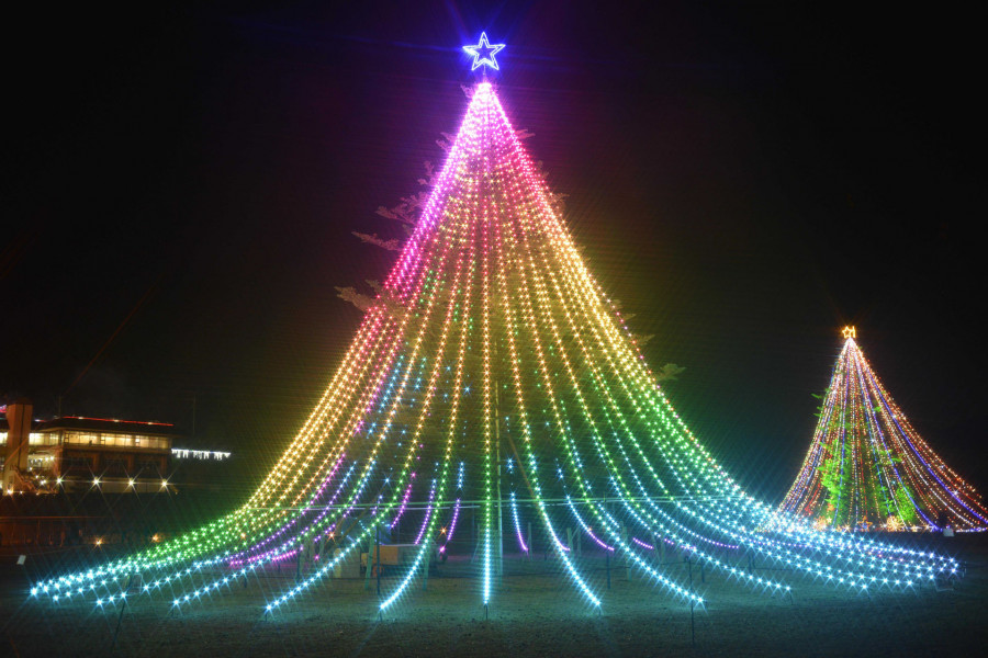 미야가세의 크리스마스 일루미네이션