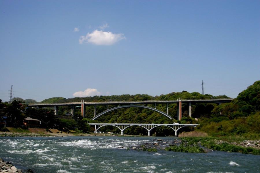 사가미 강을 따라 자전거로 떠나는 풍경 여행