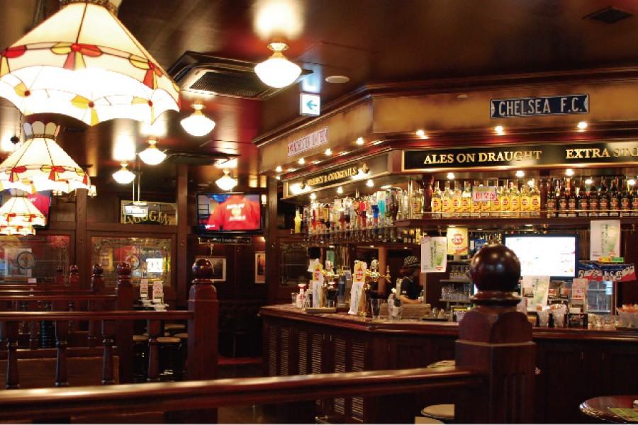 Après une balade, prenez du bon temps dans un pub à la britannique à Yokohama