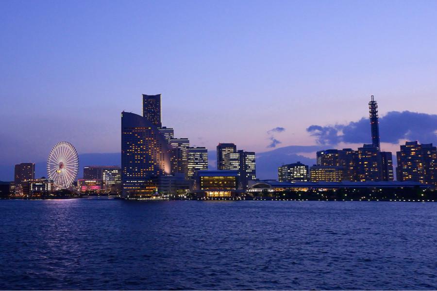 橫濱港及其歷史的巡遊