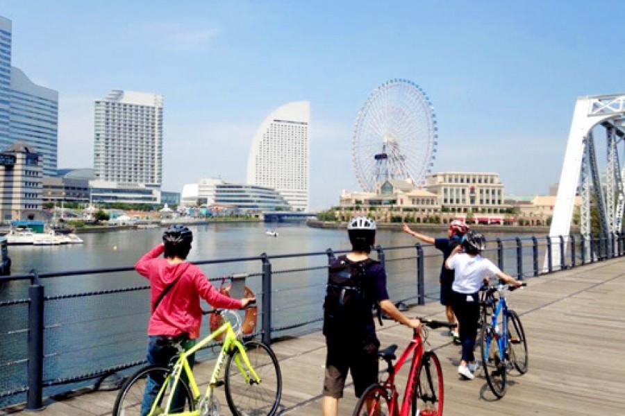 Vui Chơi Trên Con Đường Đạp Xe Dọc Bờ Biển Kanagawa
