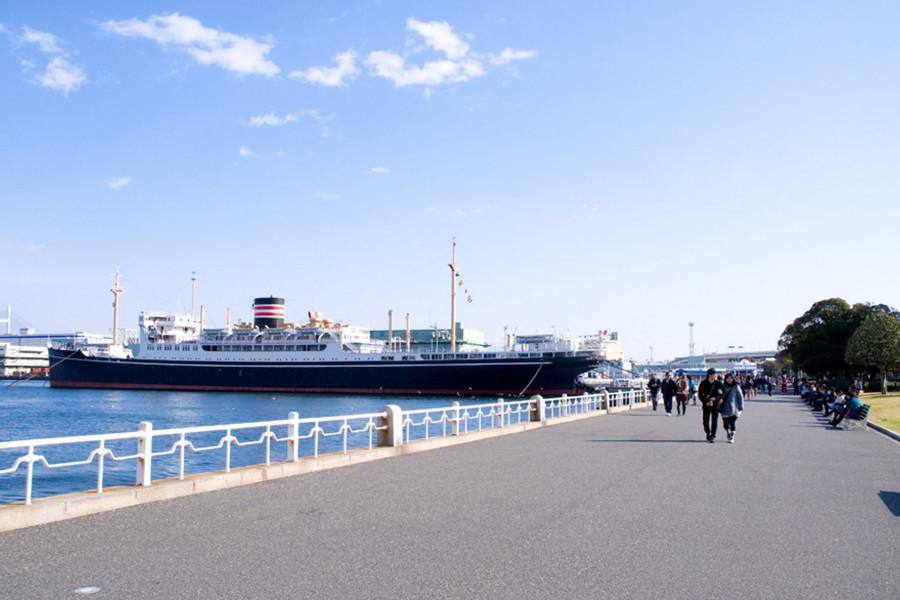 横滨观光出租车之旅