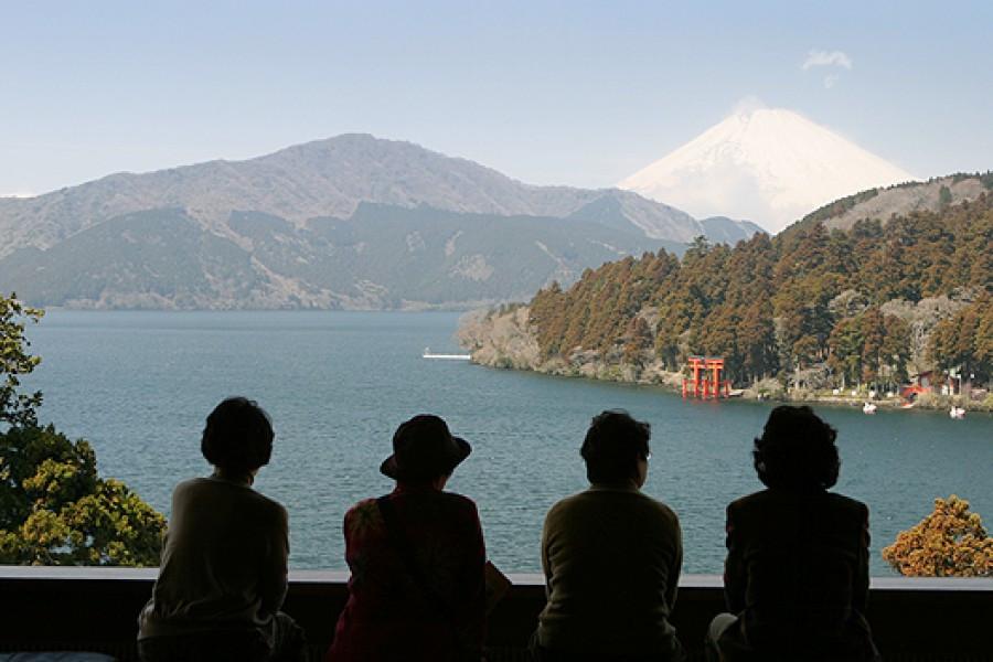Ẩn Mình vào Thiên Nhiên Núi Phú Sĩ