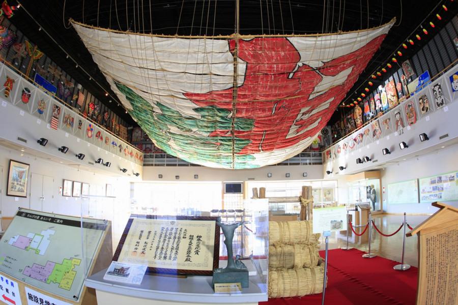 Musée des cerfs-volants géants et vues sur la vallée de Sagami