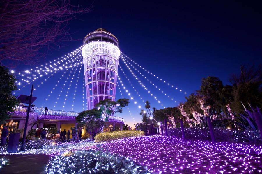 สำรวจเอะโนะชิมะในตอนกลางวันและเพลิดเพลินไปกับแสงไฟระยิบระยับในยามค่ำคืน