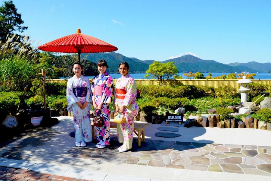 Kulturelles Erlebnis in Hakone