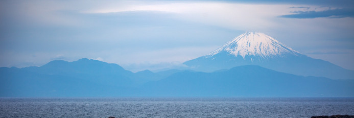 富士山的美景