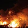 노스 비치 사기 쵸(불 축제)