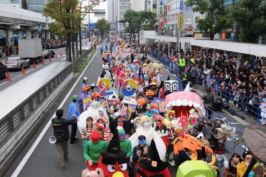 The Kawasaki Halloween Parade in 2016