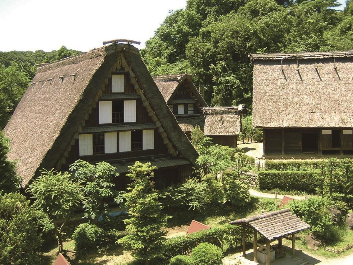 Traditional houses in Kawasaki