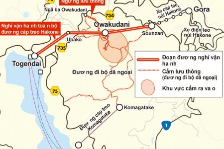 Hakone: Cập nhật thông tin Núi Lửa Owakudani
