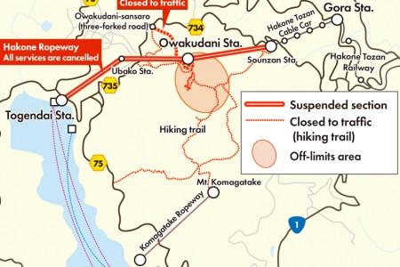 Hakone: Owakudani Volcano Information Update