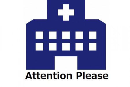 Vui lòng lưu ý giờ làm việc của từng cơ sở.
