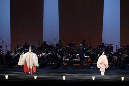 The original performances that combine Noh and opera can now be watched online!