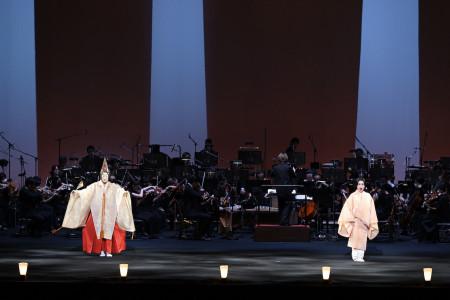 Les performances originales qui combinent Nô et opéra peuvent désormais être visionnées en ligne !
