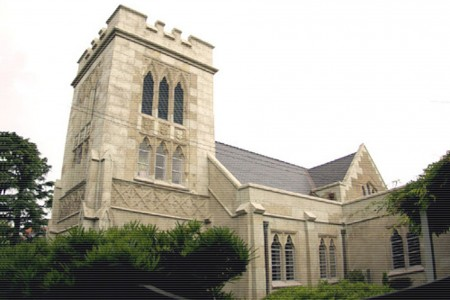 横滨山手圣公会(Yokohama Christ Church)