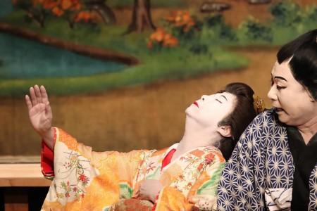 Fujino Kabuki Vorstellung
