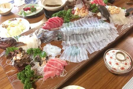 Fischergericht (Minshuku Hara (Gasthaus))