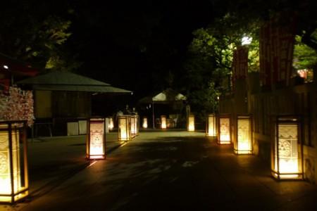 Les lanternes d'Enoshima